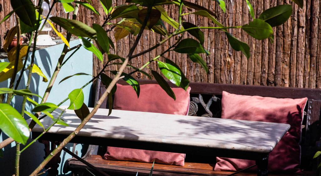 Kudu restaurant garden